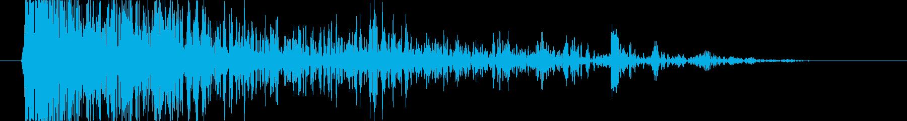 ブレーク ウッドラージ01の再生済みの波形