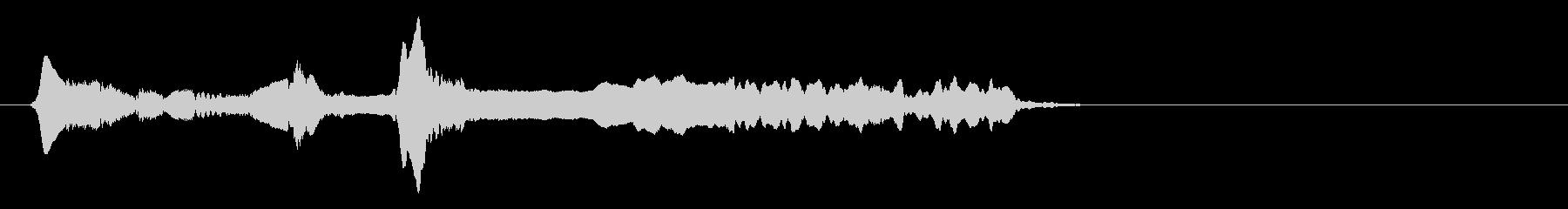 尺八 生演奏 古典風#20の未再生の波形