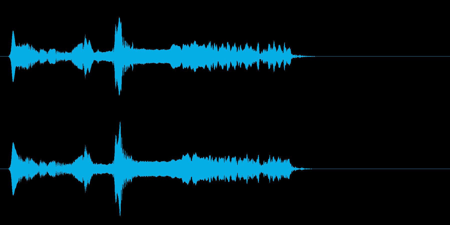 尺八 生演奏 古典風#20の再生済みの波形