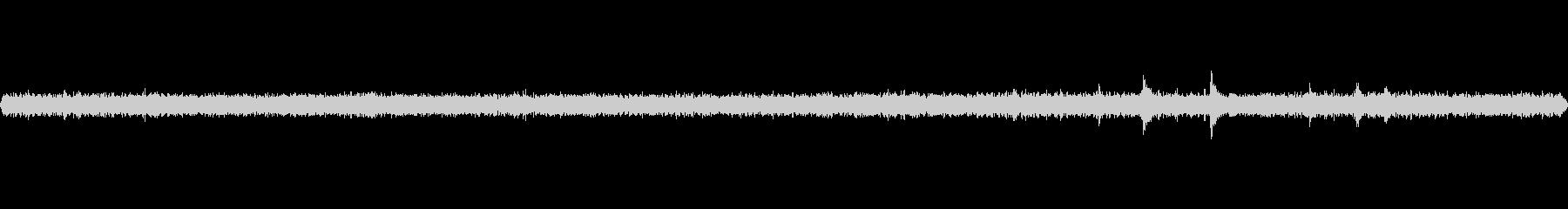 町工場の室内環境音(ベースノイズ)の未再生の波形
