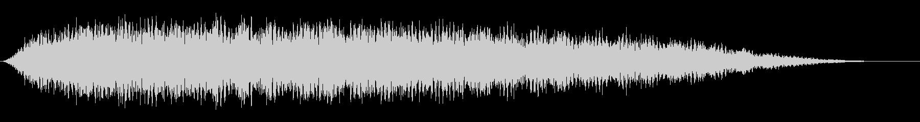ソフトテンションコード1の未再生の波形