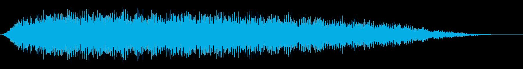 ソフトテンションコード1の再生済みの波形