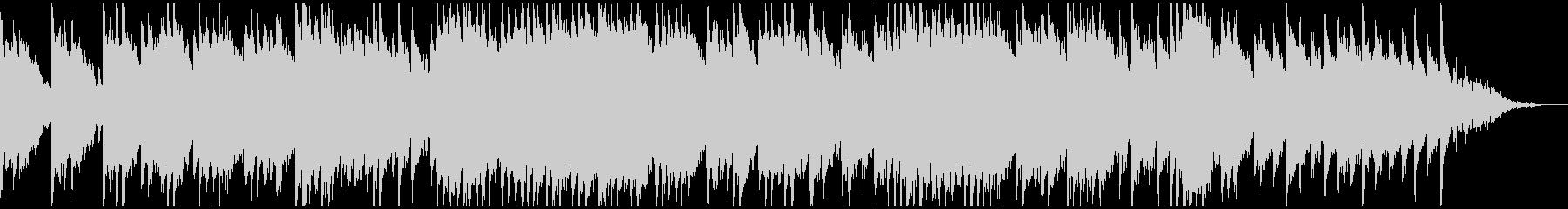 秋の並木道をピアノとバイオリンで表現の未再生の波形