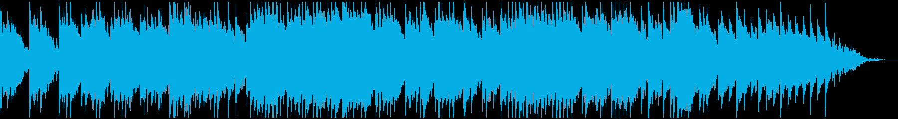 秋の並木道をピアノとバイオリンで表現の再生済みの波形