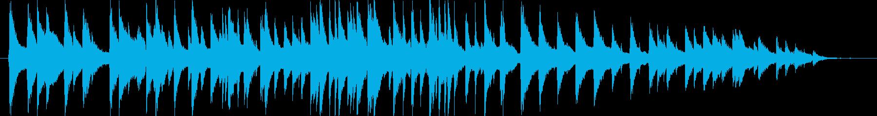 大人の色気漂うジャズ曲の再生済みの波形