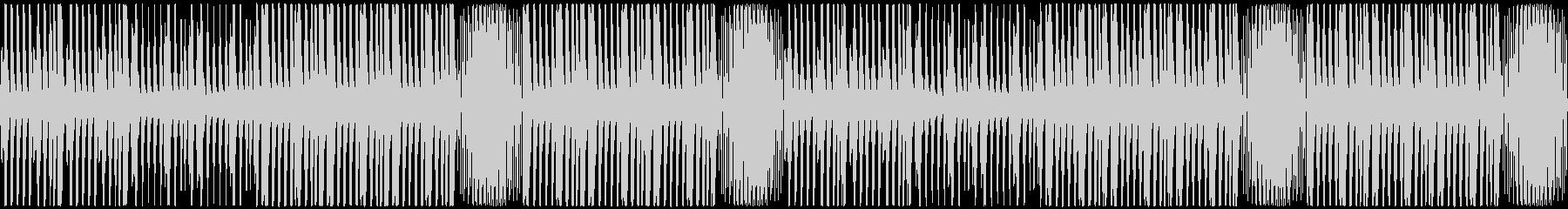 【緊迫感のあるピアノポップス】の未再生の波形