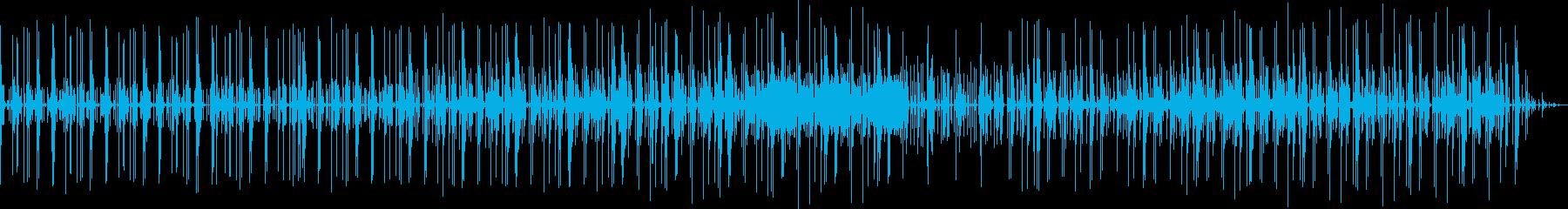 変なbeatsの再生済みの波形
