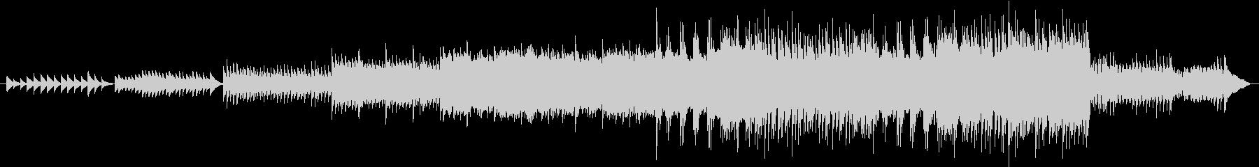 ビブラフォンの音がメインのほのぼの系の未再生の波形
