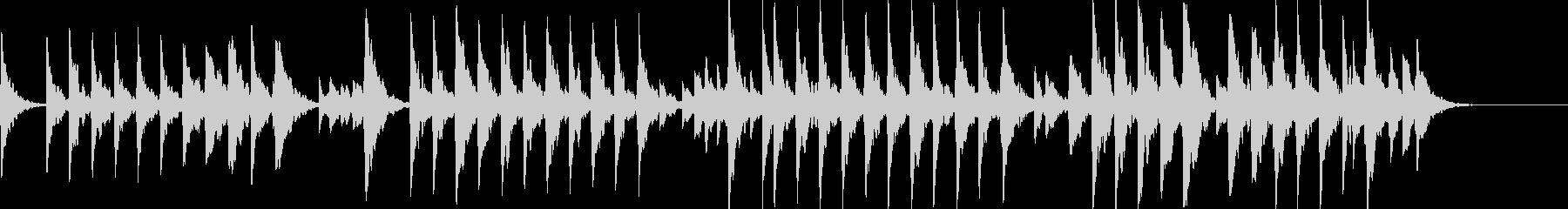 童謡「夕焼け小焼け」オルゴールbpm76の未再生の波形