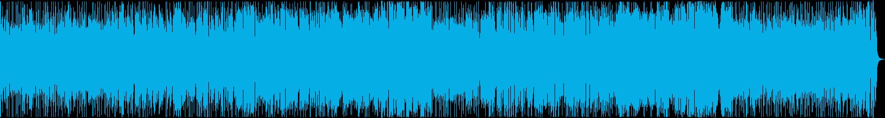 通販番組のような、ほのぼのした楽しい曲の再生済みの波形