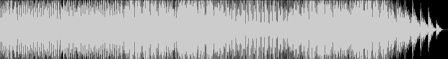 時代を駆ける熱い厚いでもクールなビートの未再生の波形