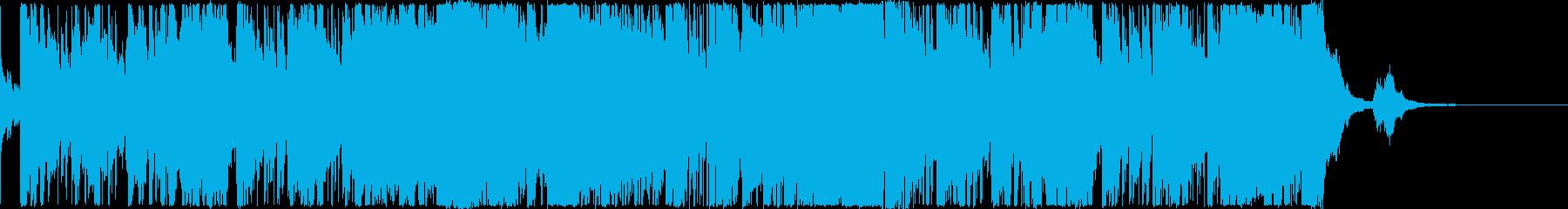 おしゃれなCM用モダンジャズ・1分の再生済みの波形