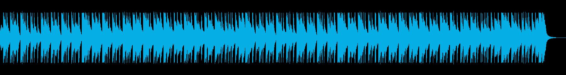 ほのぼの優しい和風日常曲・三味線尺八箏の再生済みの波形