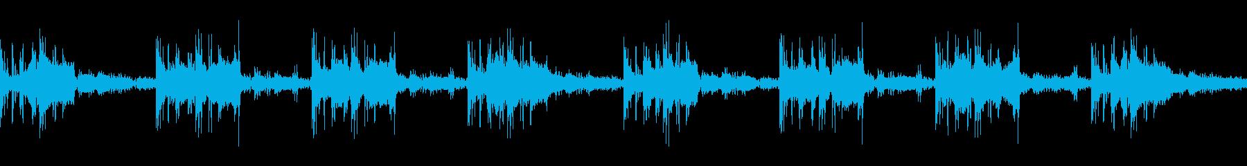 Robot / SF game loop BGM2's reproduced waveform