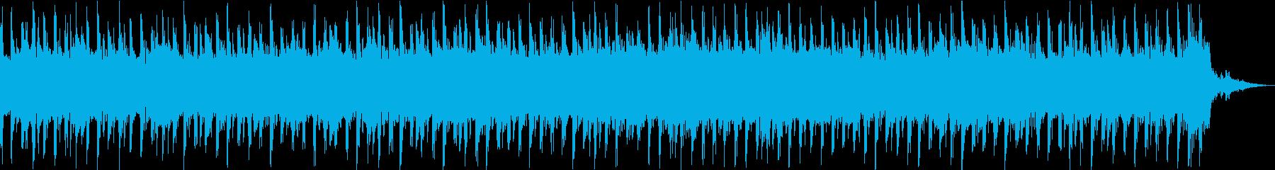 キラキラとした雰囲気のテクノポップの再生済みの波形