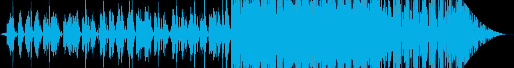 KEYにありそうな冬のオルゴールの再生済みの波形