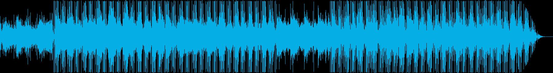 生演奏のスタイリッシュなヒップホップの再生済みの波形