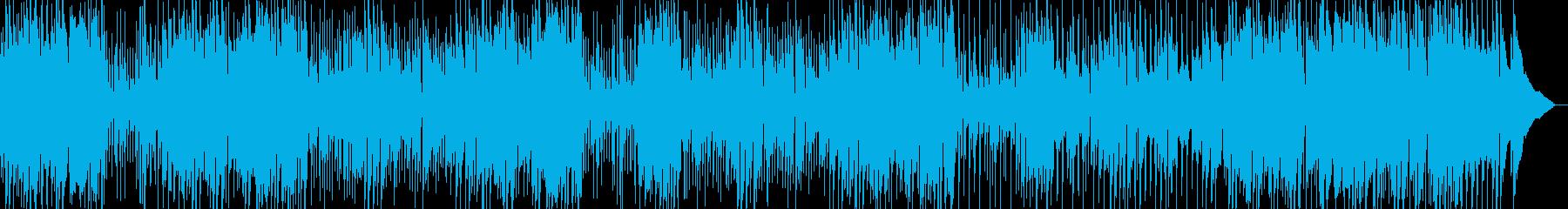 速い ジャズ ピアノ、ベース、ドラムの再生済みの波形