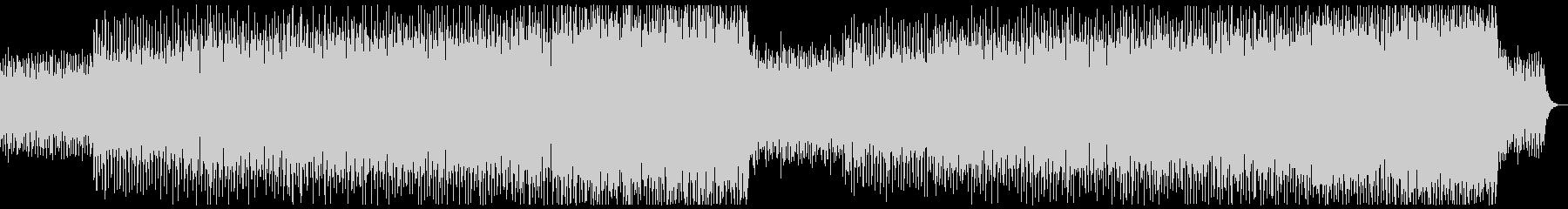 ピコピコテクノ系ミニマルミュージック系の未再生の波形