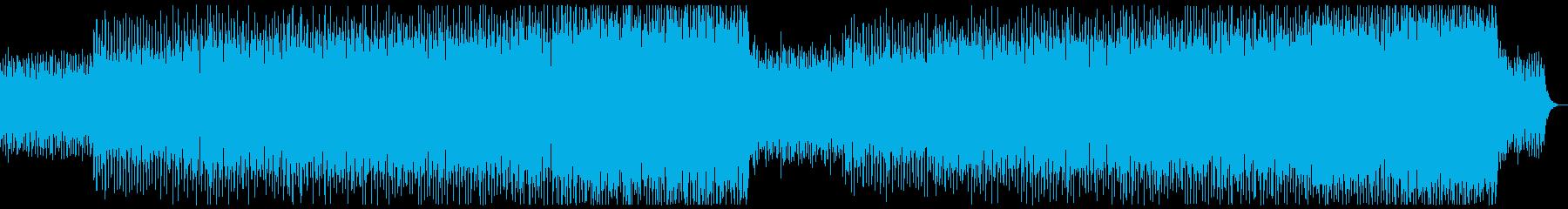 ピコピコテクノ系ミニマルミュージック系の再生済みの波形