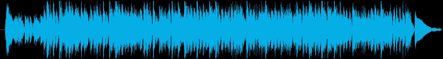 キーボードがメインの可愛いスイングロックの再生済みの波形