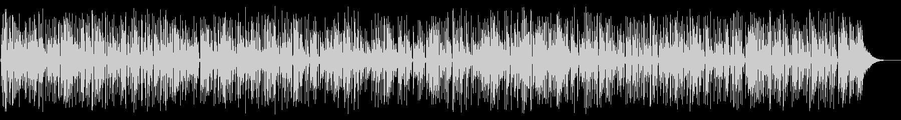 ほのぼのしたアコースティックギターデュオの未再生の波形