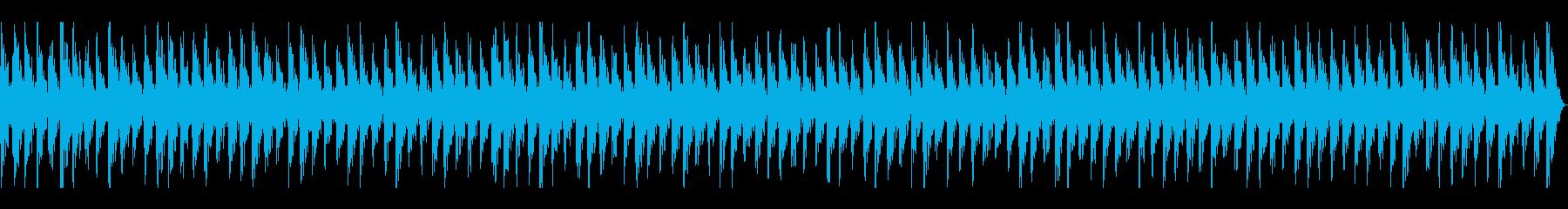 低音・高音が心地いい癒やし・作業音楽の再生済みの波形