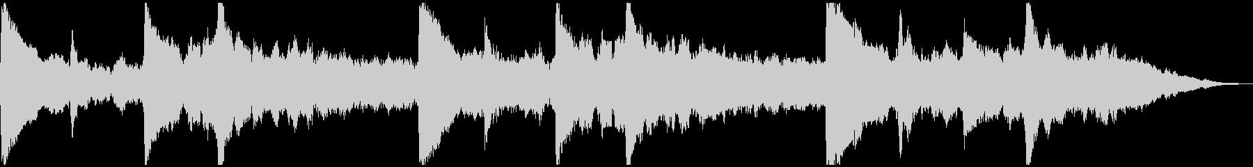 5秒CM用、サウンドロゴverBの未再生の波形