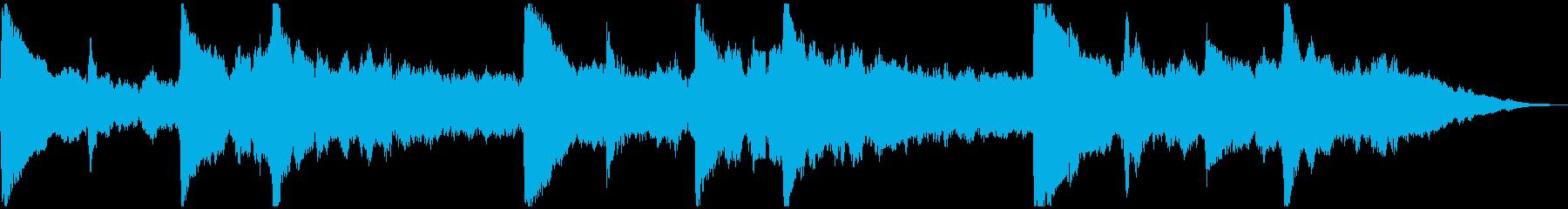 5秒CM用、サウンドロゴverBの再生済みの波形