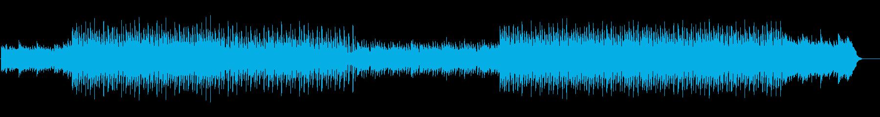 琴を使った和風EDM 感動的紹介映像にの再生済みの波形