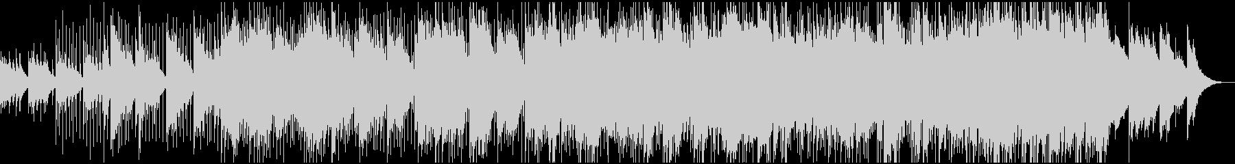 ふんわりとしたアコギのリラックス曲の未再生の波形
