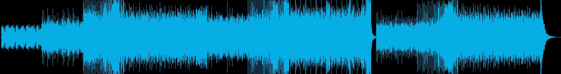 フェス系のノリの良いEDMの再生済みの波形
