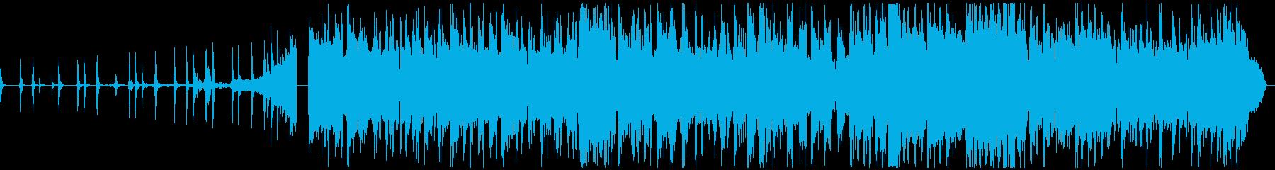 CM用!30秒で完結するポストロック曲の再生済みの波形