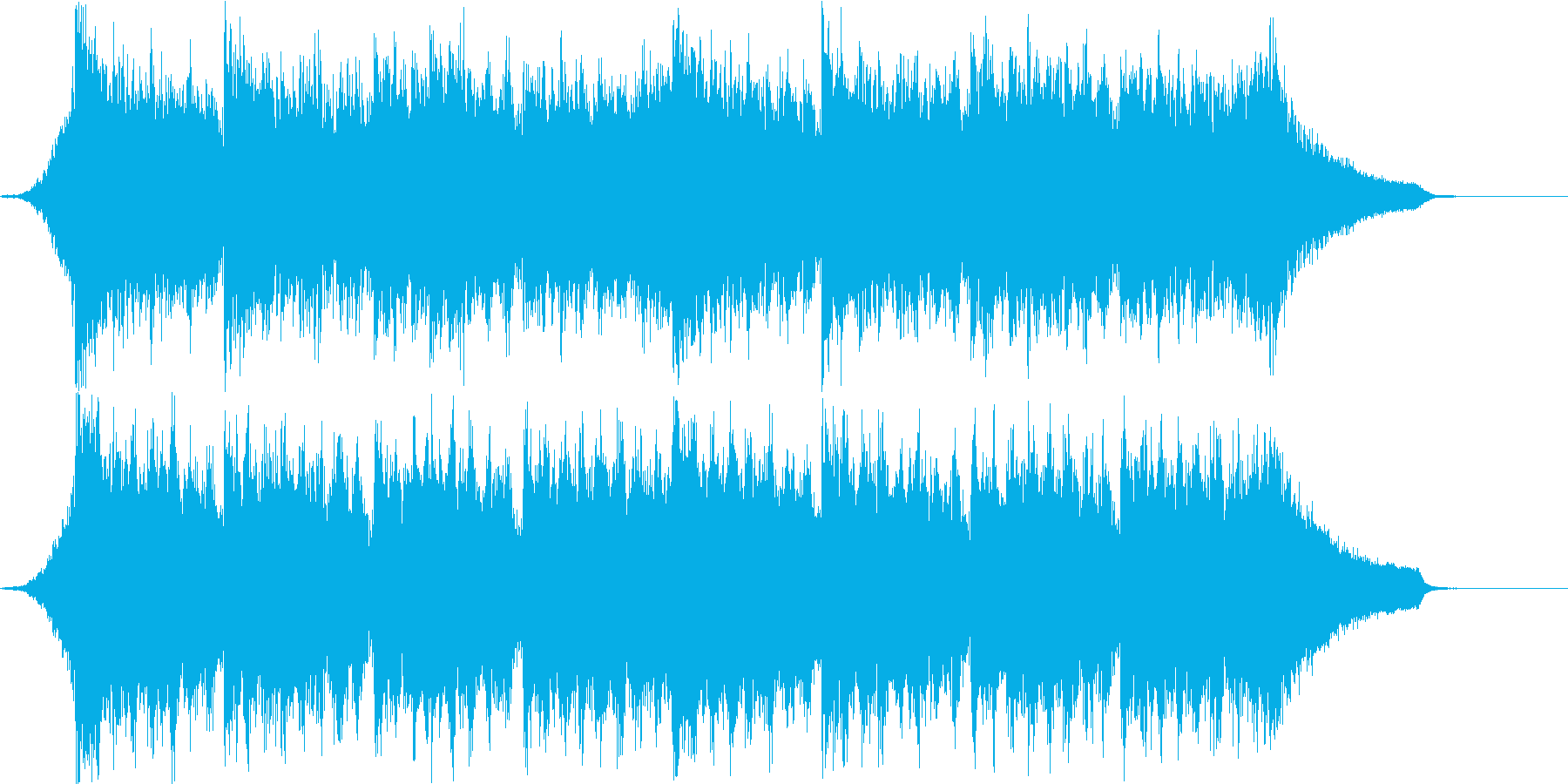 企業VPや映像71、オーケストラ、壮大cの再生済みの波形