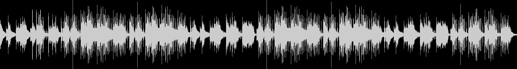 悲しい・夜・冬・ピアノ・ヒップホップの未再生の波形
