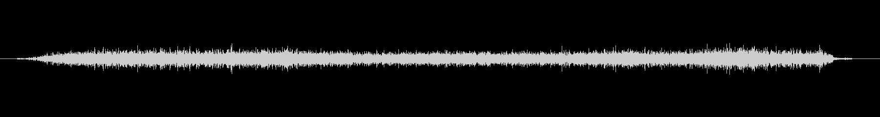 ヘアムースを手に入れるの未再生の波形