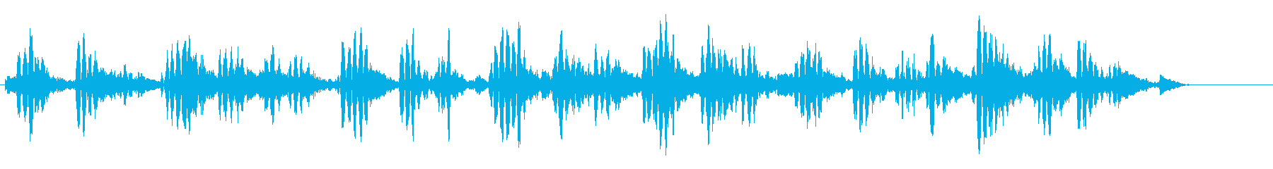 KANT 近未来宇宙人の声効果音2の再生済みの波形