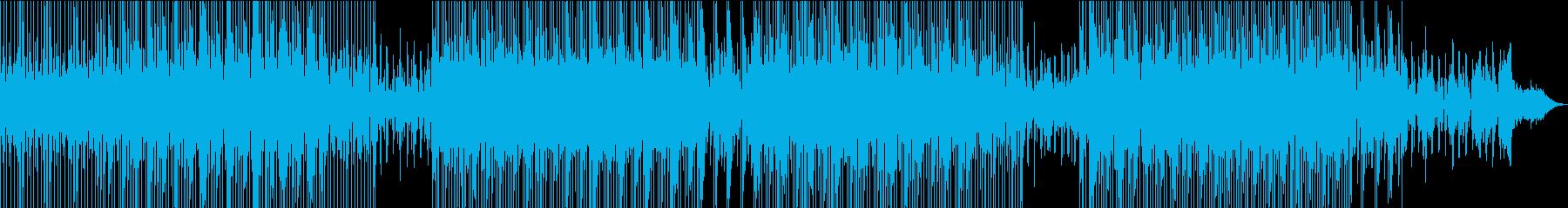 Vlog、実況、説明、商品紹介系BGM2の再生済みの波形