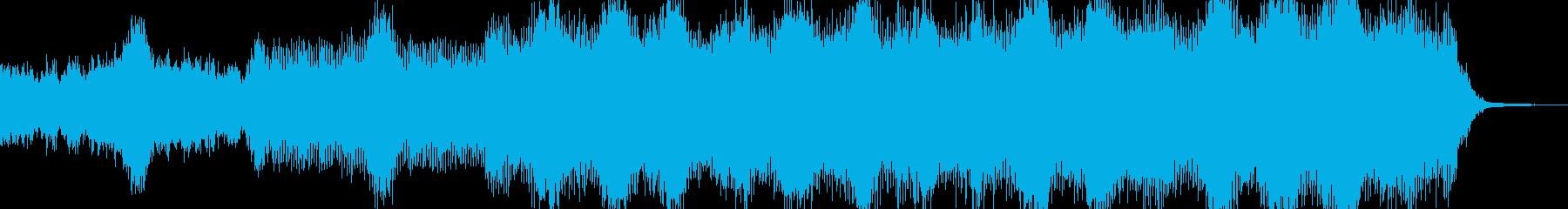 アンデッド・血生臭いホラーを演出 B2の再生済みの波形