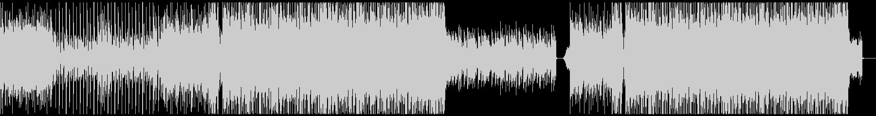 シンセウェーブ・80s・レトロ/メロなしの未再生の波形