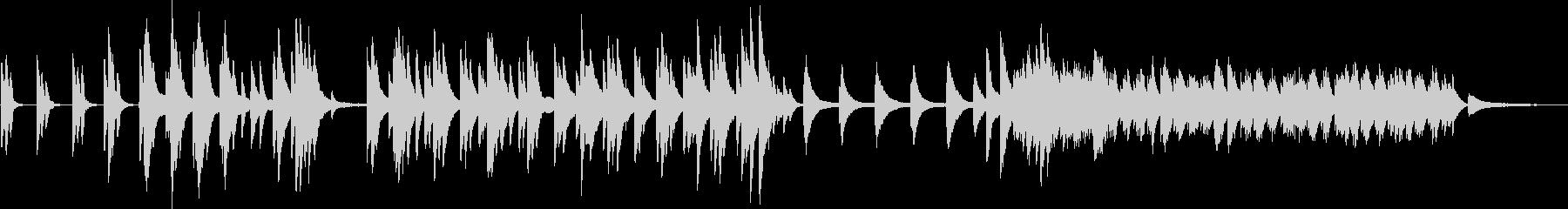 偉大なる揺り籠のピアノの未再生の波形
