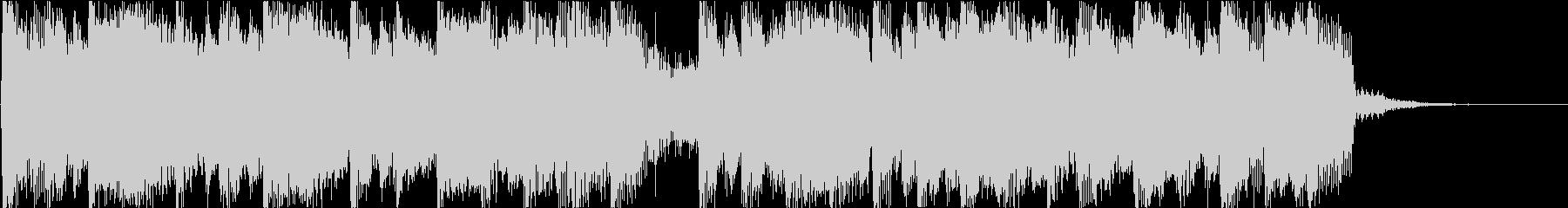 ほのぼの感MAXのBGMの未再生の波形