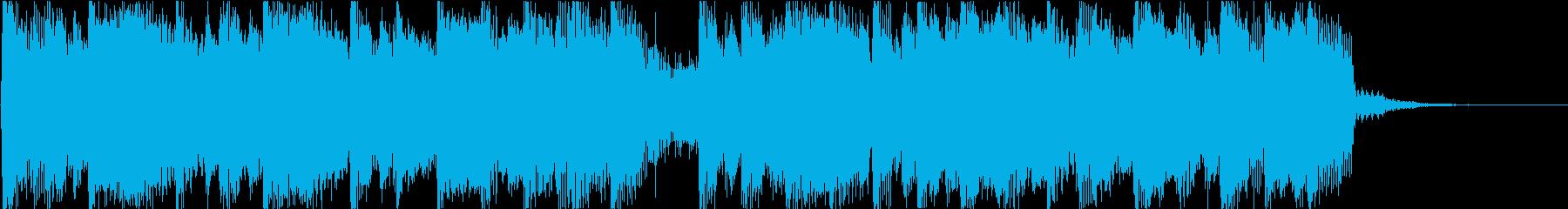 ほのぼの感MAXのBGMの再生済みの波形