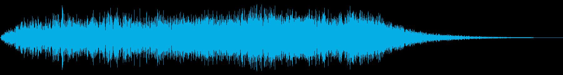 オールドタイムシンセスペースシップ...の再生済みの波形
