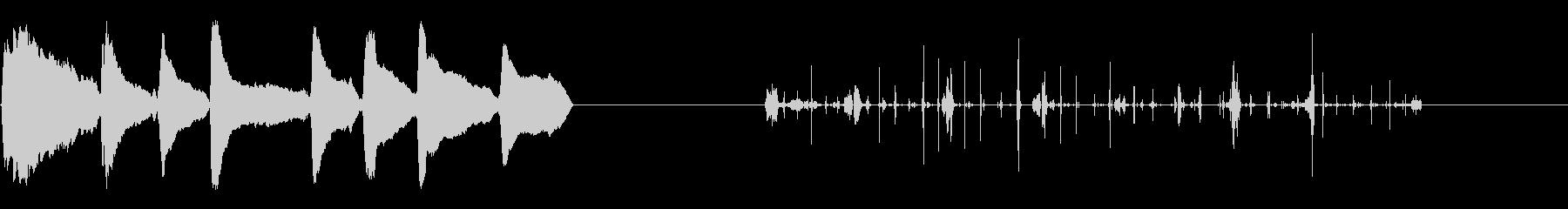漫画-クレイジーキッド-2バージョンの未再生の波形