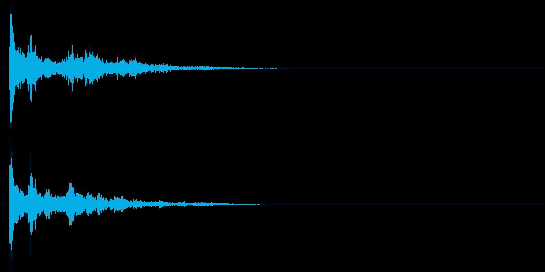 電球の破裂-07の再生済みの波形