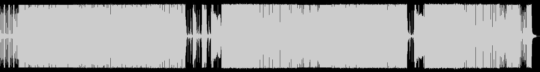 重厚 アクション 技術的な エレキギターの未再生の波形