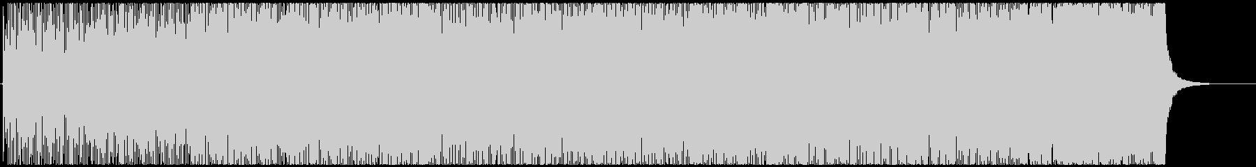 ノリノリの番組オープニング曲の未再生の波形