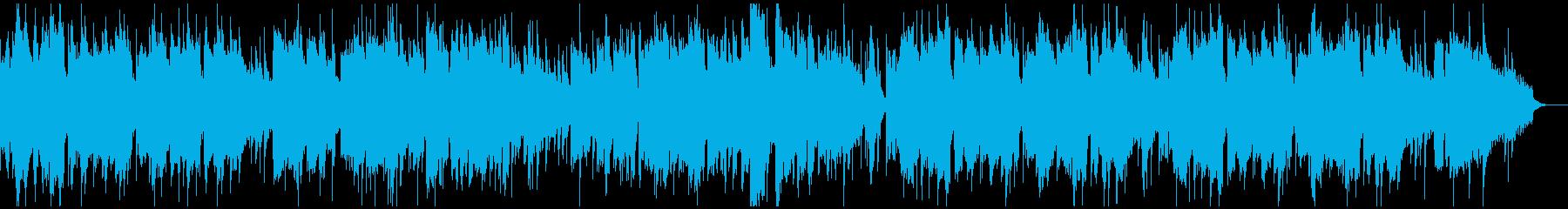 和風 旅館 旅 温泉をイメージした曲の再生済みの波形
