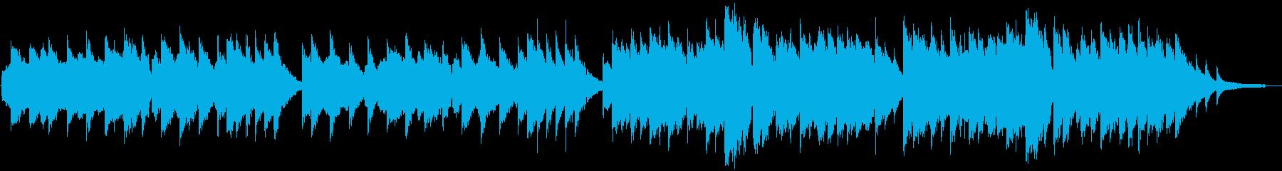 ヴァイオリンとピアノによる『蛍の光』の再生済みの波形